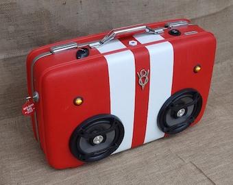 Suiutcase Speaker Boombox Speakerbox