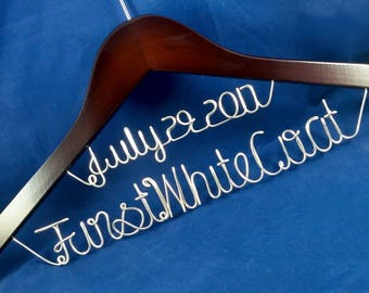 Personalized Doctor Hanger With Date, Doctor Graduation Hanger, Doctor Hanger,  White Coat Ceremony, First White Coat Hanger, Custom Hanger.