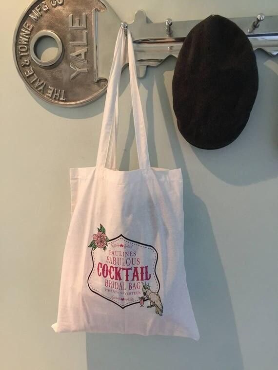 Personalised Bag / Bride / Cocktails / Bridezilla Tote Bag