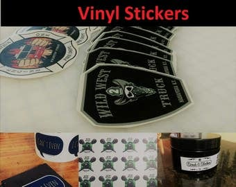 500 Custom Cut Stickers