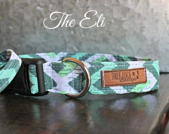"""Dog Collar with optional bff bracelet """"The Eli"""" FREE SHIPPING 