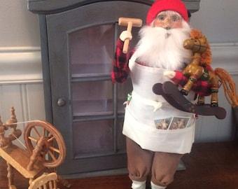 1993 Santa Toymaker Figurine
