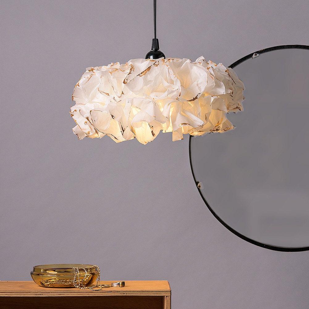 Gold Lamp Gold Fixture Ceiling Light Ceiling Paper Pendant