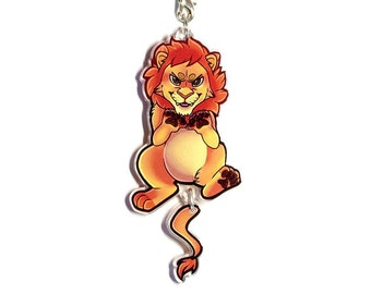 Deluxe lion charm