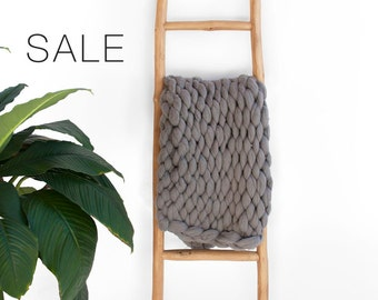 Sale! Chunky Knit Throw