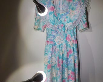 the watercolor dress