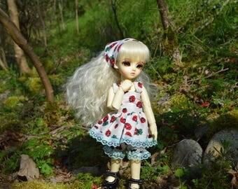 Ladybug outfit [BJD YoSD (1/6)]