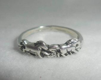Cute Wild Horse Ring