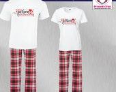 Couples Pajamas Best Frie...