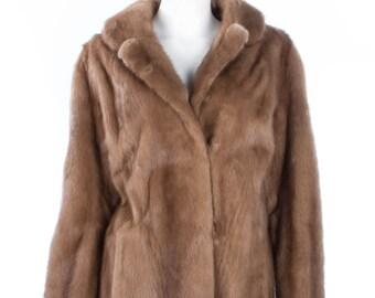 Vintage fur jacket by the Scandinavian Fur Co.