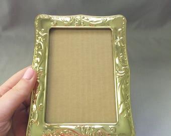 Gold Picture Frame // Gold Photo Frame // Gold Frame // Vintage Picture Frame // Vintage Frame // Vintage Photo Frame // 90s