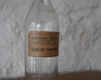 Paraffin oil bottle