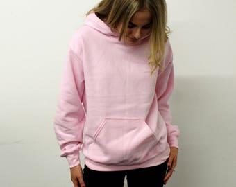 Save The People Light Pink Hoodie, Fashion, Yeezy fashion, pablo hoodie, rapper hoodie, oversized pink hoodie,