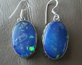 Fire Opal Earrings!