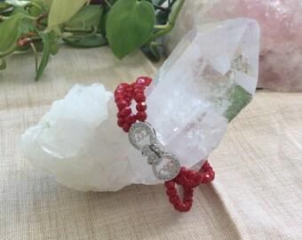 Red Beads Bracelet