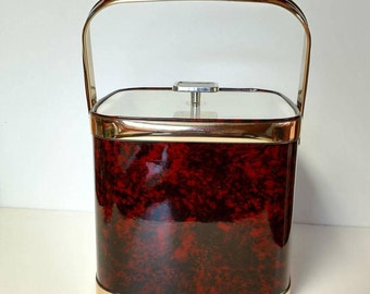 Lidded Ice Bucket Square by Culver