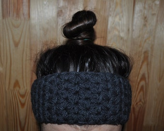 Headband - knit Headband - ear warmer - turban - crochet headband