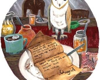 Hagrid's Note