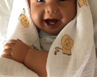 "Apple Valley Hilarious Pat Secrist Baby Boy REBORN 1995 Realistic Doll 22"""