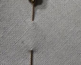 Glass Art Hat Pin