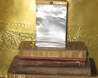 Fabulous Art Deco, Mother of Pearl, and Brass Cigarette case!