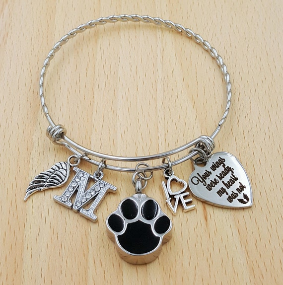 Pet Cremation Jewelry Pet Urn Jewelry Pet Memorial Bracelet Loss of Dog Bracelet Pet Loss Loss of Pet Gift Loss of Family Pet Gift Pet