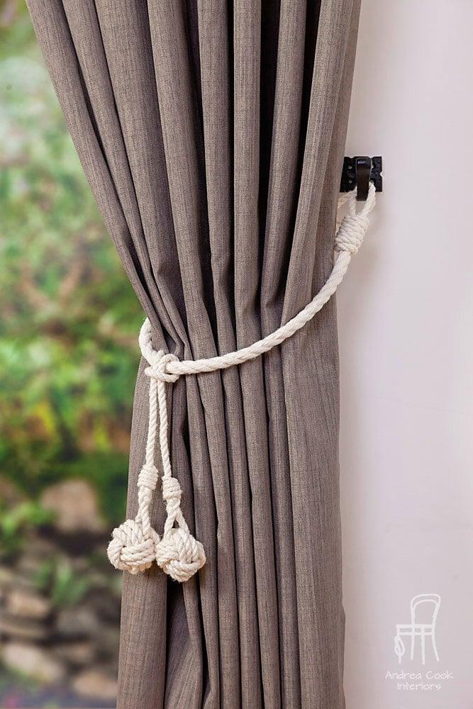 White Tassel Curtain Tie Backs Curtain Menzilperde Net