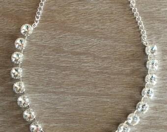 12MM Gorgeous Swarovski Crystal Necklace