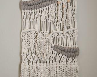 Macrame Weaving - Ash Brown Roving
