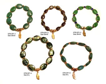STATEMENT Collection Stretchy Bracelets to inspire civility - Group 1