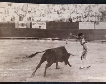 Vintage 1930s Mexican Postcard