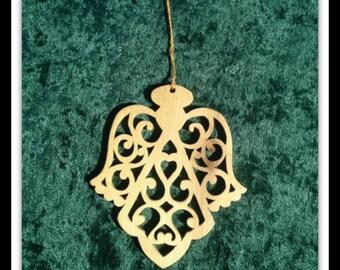 Filigree Angel Ornament - 1026