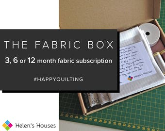 The Fabric Box Fabric Subscription Box for Quilting