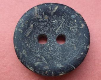 13 dark grey buttons 16mm (5687) anthracite grey button