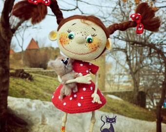 Crochet pattern doll