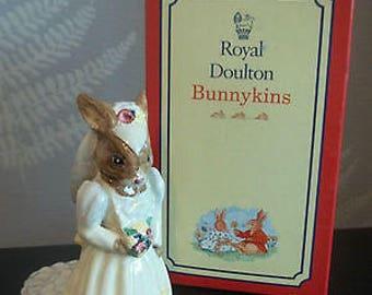 Royal Doulton Bunnykins - Bride Bunny
