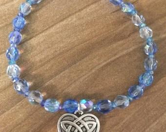 Blue Celtic Charm