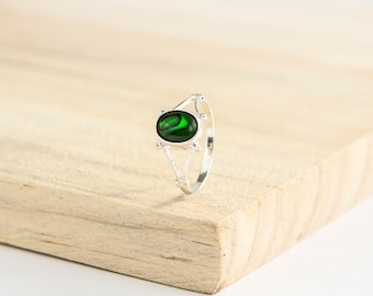 customised eibhlhin celtic ring sterling silver choose your gemstone celtic jewelry wiccan - Pagan Wedding Rings