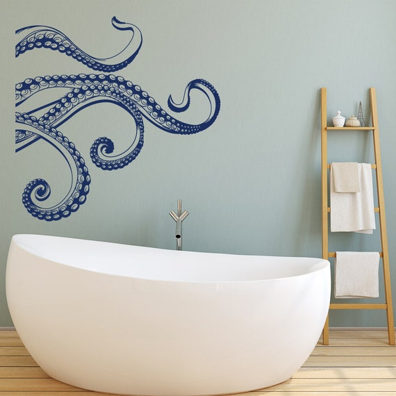 Kraken Octopus Tentacles Vinyl Wall Decal