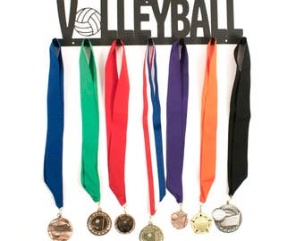 Volleyball Medal Holder, Volleyball Medal Hanger, Volleyball Medal Display, Volleyball Medals, Campfire Bay, Medal Holder, Medal Hangers