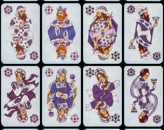 Playing cards GZHEL