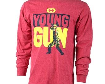 GIMMEDAT Young Gun Softball T-Shirt, Baseball Shirt, Softball Shirts - Free Shipping!