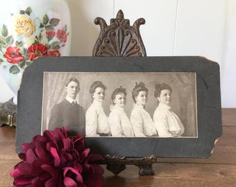 Vintage Photograph, Vintage Family Photograph, Vintage Family Portrait, Haley Family, M M Mudge Photography