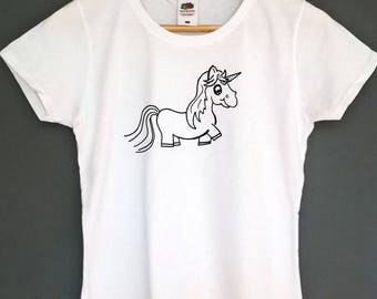 Unicorn T Shirt Graphic tshirt unicorn shirt unicorn tshirt unicorn t-shirt unicorn tee top graphic shirt graphic top tee womens clothing