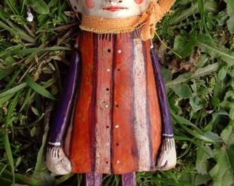 Terracotta sculpture-terracotta poster-terracotta figurines-figurines-handmade terracotta clay sculpture-Dolly-daAppendere