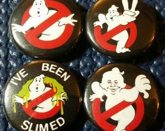 Ghostbusters Button Set!