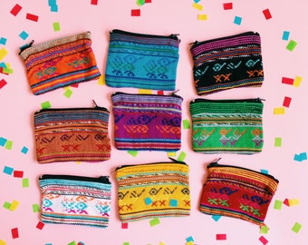 Mexican purse, Coin purse, Mexican wallet, Mexican bag, Mexican wedding favors, Mexican favors, Gift for her, Mexican party favor, SET OF 10