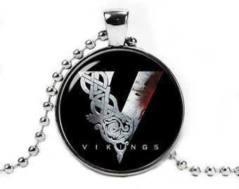 Vikings Logo Fandom Jewelry Necklace with Pendant Vikings Series