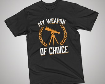 Astronomy Weapon of Choice T-Shirt