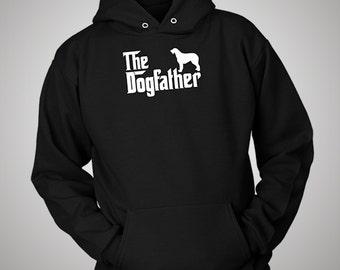 Irish Wolfhound DogFather Hoodie
